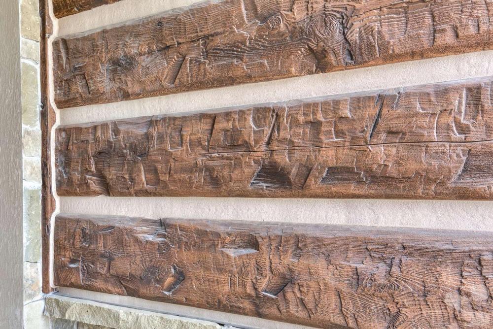 Concrete Faux Wood Siding