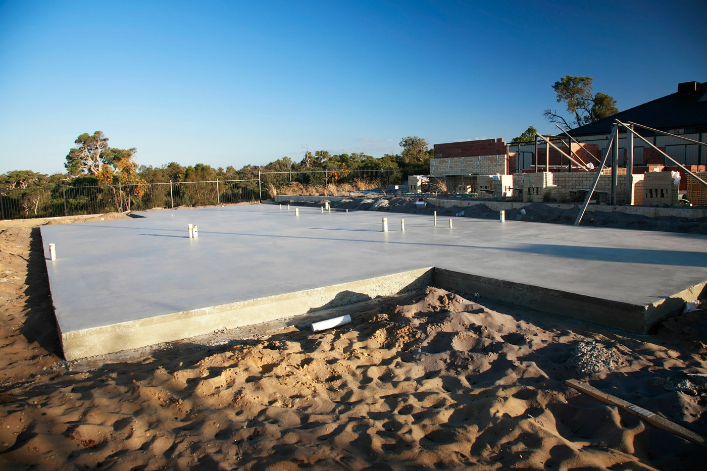 How much does a 40x60 concrete slab cost?